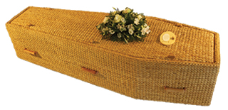 Water Hyacinth Eco Coffin