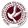 Logo for the Irish Association of Funeral Directors